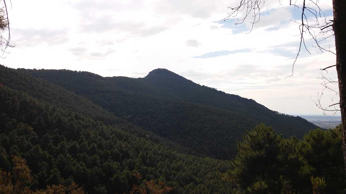la Verrruca, trekking sui Monti Pisani