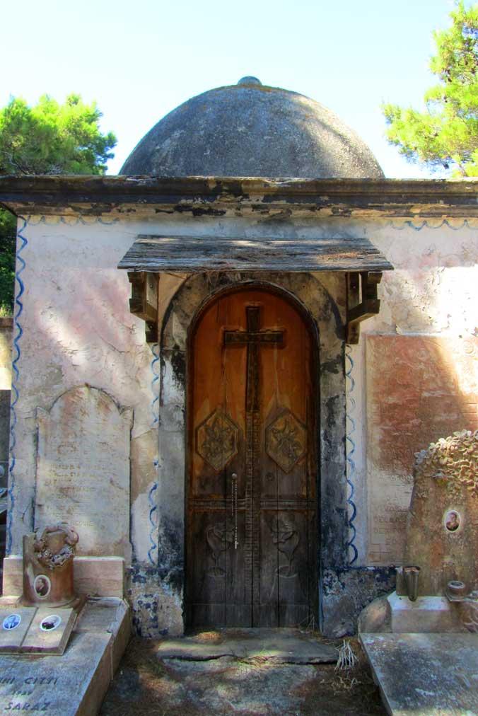 Cimitero, Isola di Gorgona