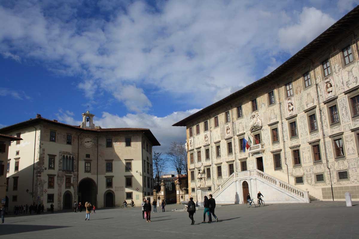 Cosa vedere in un weekend a Pisa, Piazza dei Cavalieri