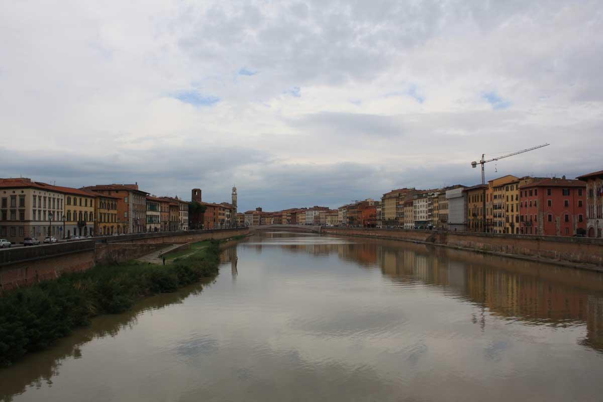 Cosa vedere in un weekend a Pisa, i Lungarni