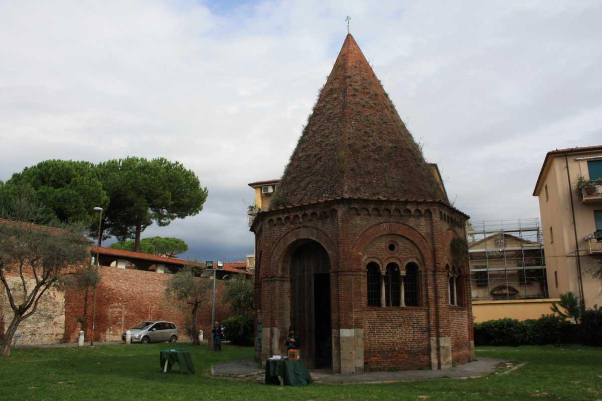 Una passeggiata sulle mura di Pisa, Cappella di Sant'Agata