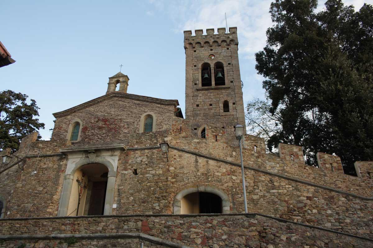 Itinerario tra i borghi della Val di Cornia, Castagneto Carducci