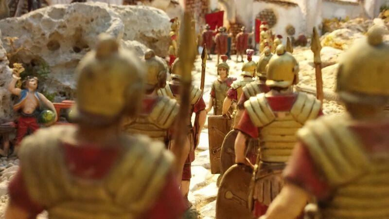 I presepi di Toscana - Il presepe artistico di Cigoli