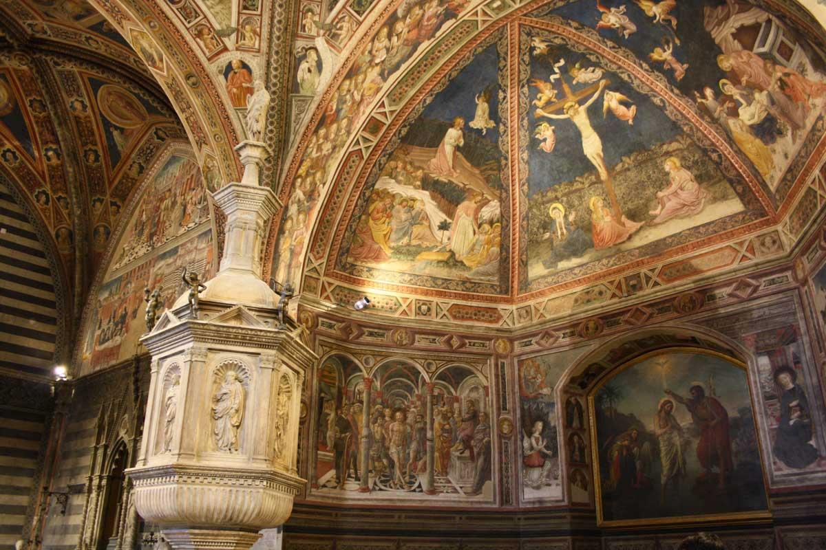 Siena con Opa Si Pass all inclusive, il Battistero