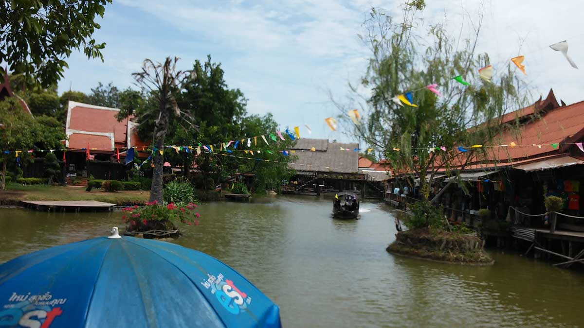 Ayuttaya, floating market