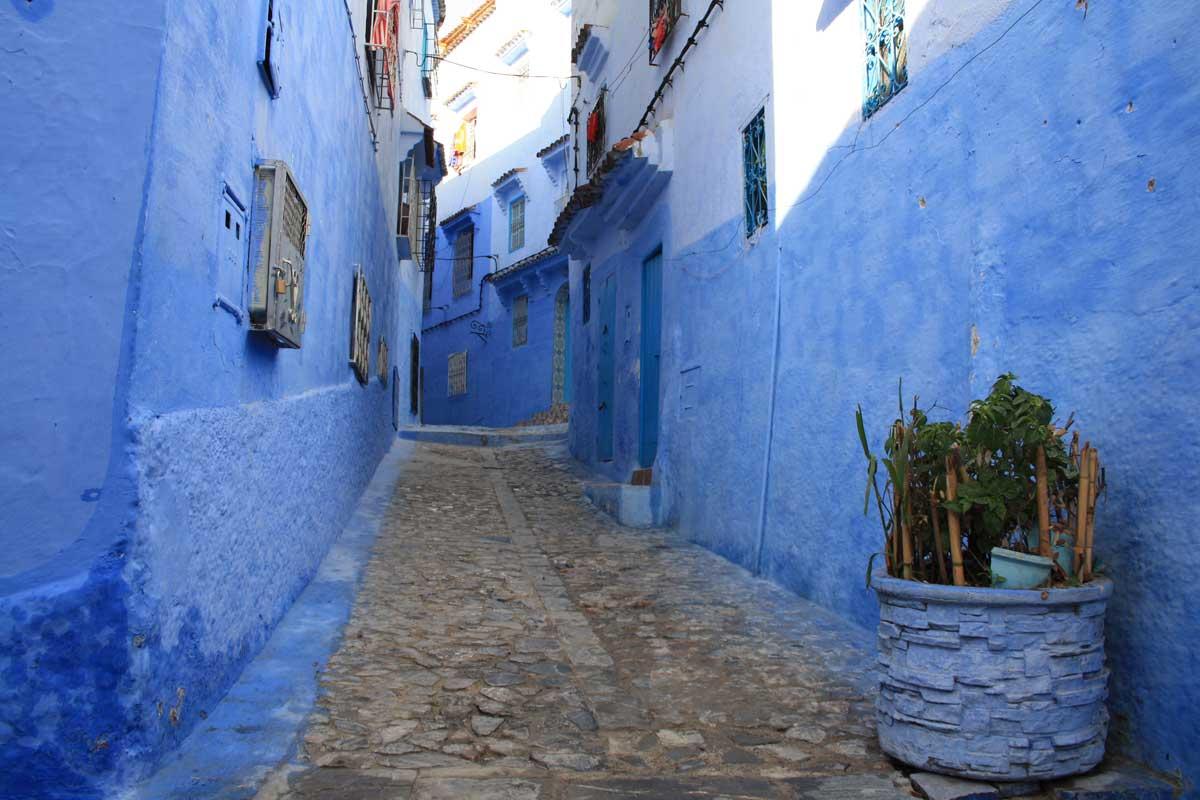 Itinerario di una settimana in Marocco, Chefchaouen