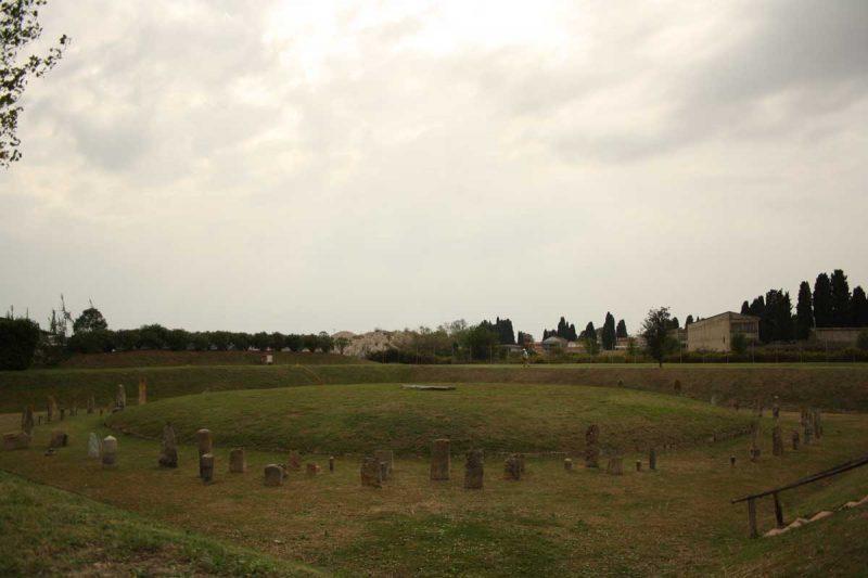Il Tumulo del Principe Etrusco a Pisa