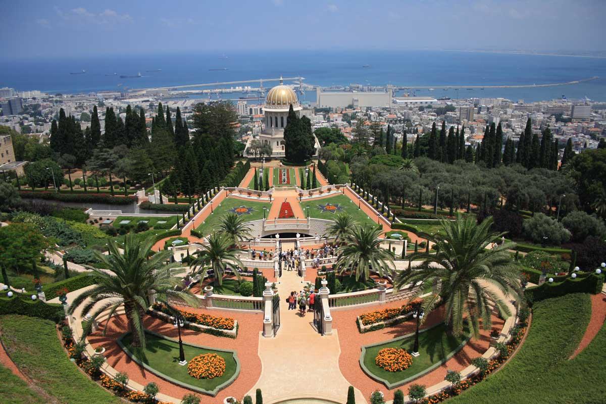 Haifa e i giardini pensili di Bahai