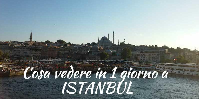 #8ore a Istanbul – Cosa vedere a Istanbul in 1 giorno