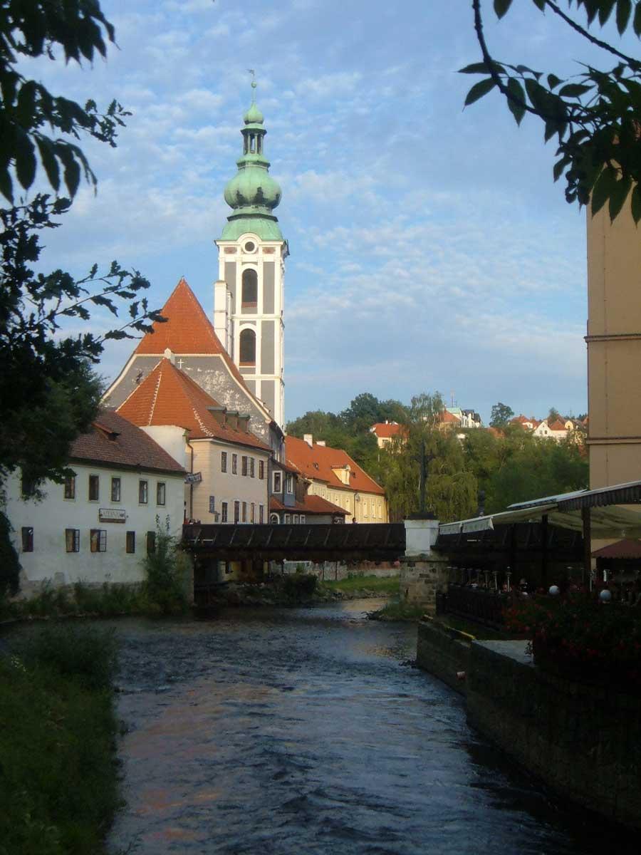angolo romantico a Český Krumlov
