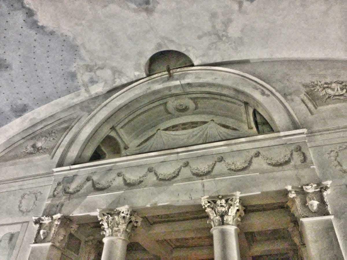 interno Tempio di Minerva Medica