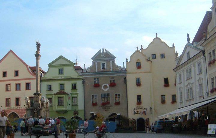 Una delle città più romantiche d'europa:  Český Krumlov