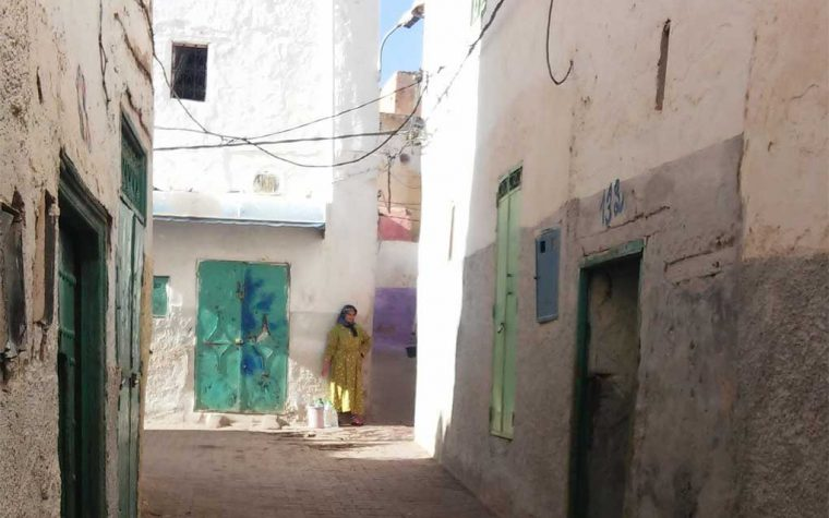 La medina di Sefrou e le case-grotta di Bhalil