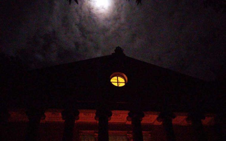 Passeggiata al chiaro di luna al Tempio di Minerva