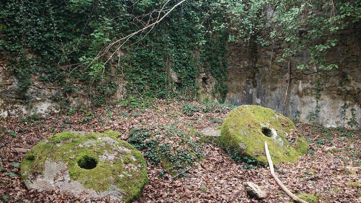 Castiglion che dio sol sa, macine del Mulino Ricausa