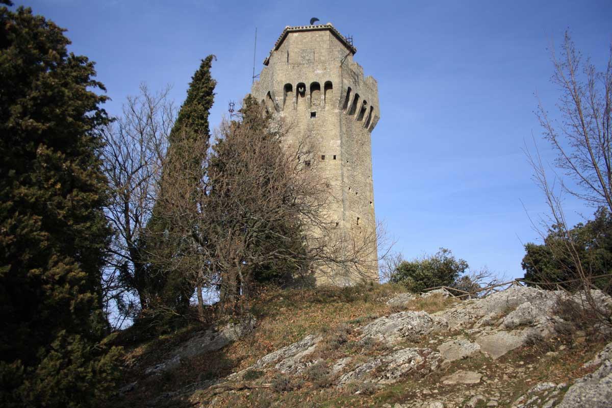 Terza rocca o Montale - San Marino