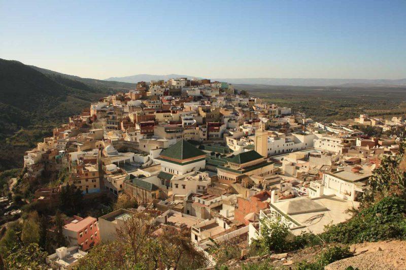 La città santa di Moulay Idriss