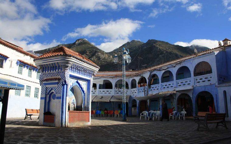 La città blu bella tra le vette: Chefchaouen