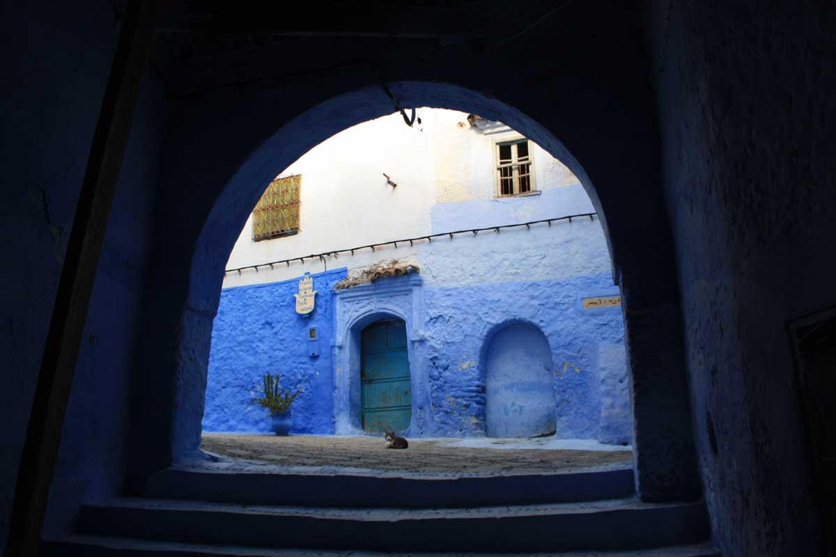 Chefchaouen, la città blu tra le vette