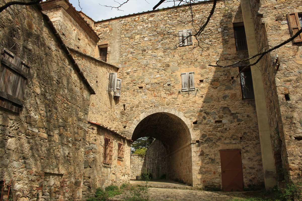Escursione tra i boschi dei partigiani alla ricerca del Castello d'Elci, le Terme delle Galleraie
