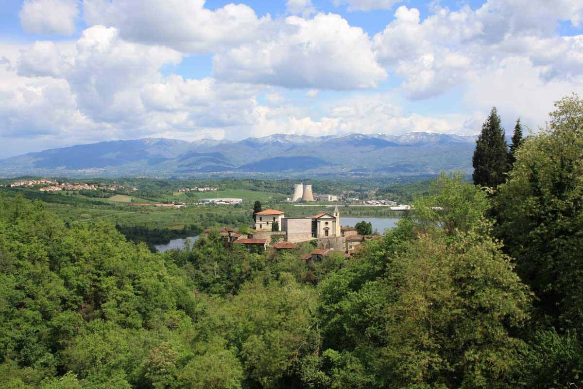 Ghost town in Toscana, Castelnuovo dei Sabbioni