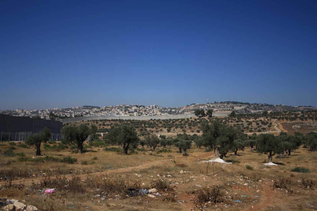 Muro di confine tra Israele e Giordania