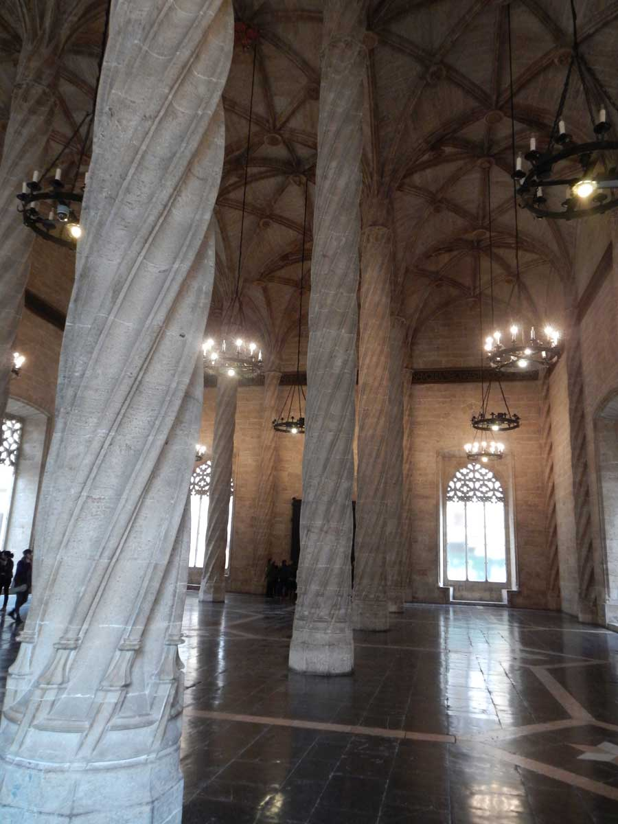 Lonja de la Seda (Mercato della Seta) Valencia (Spagna)