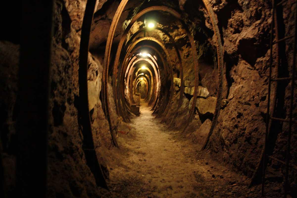 Toscana underground: Miniera di Montecatini Val di Cecina