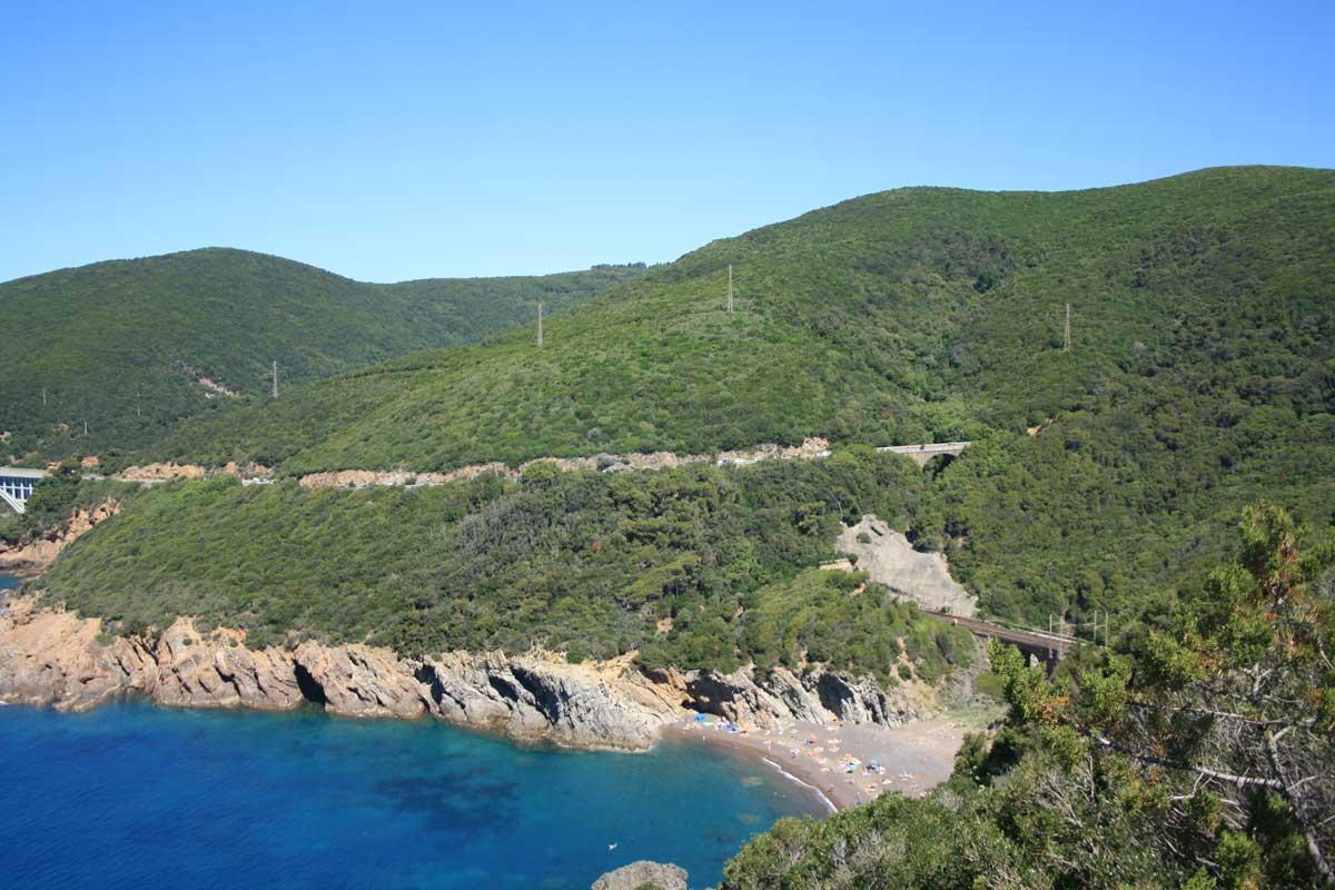 spiagge Toscana cala del Leone