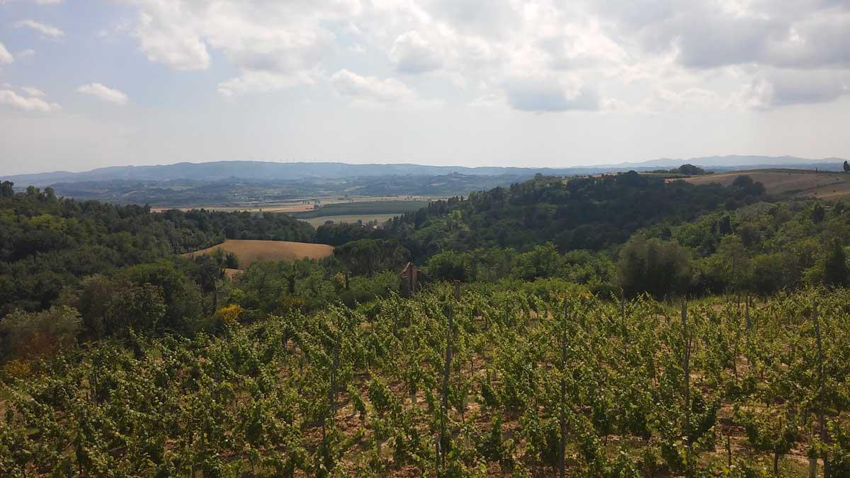 Anello di Alica, paesaggio