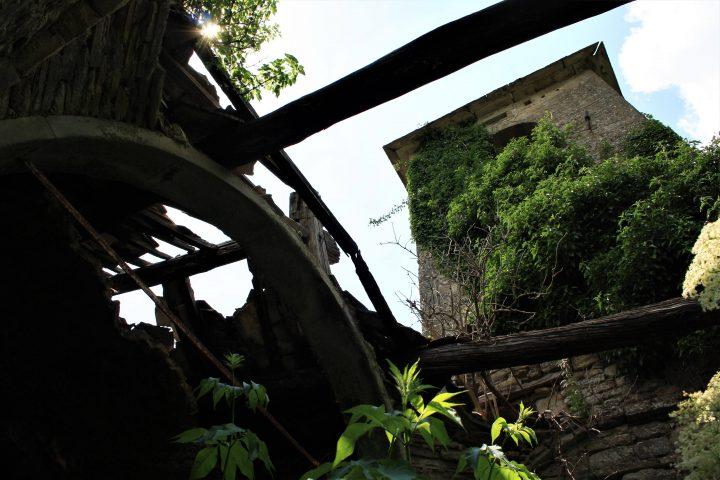 Ghost town in Toscana, Castiglioncello