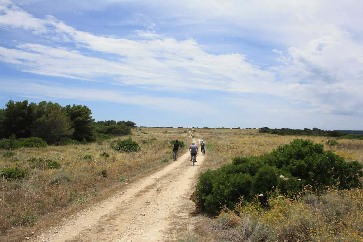 I caraibi in Toscana: isola di Pianosa, l'escursione in mountain bike