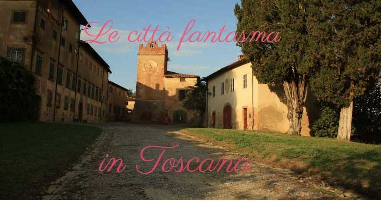 Ghost town in Toscana