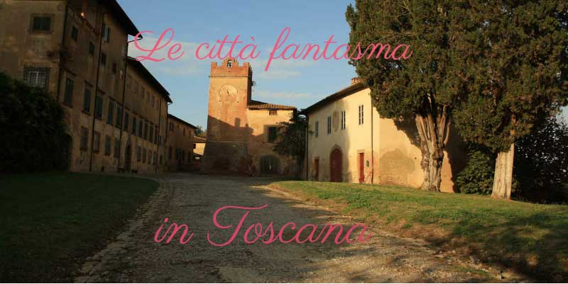 Ghost town in toscana - Magazine cover