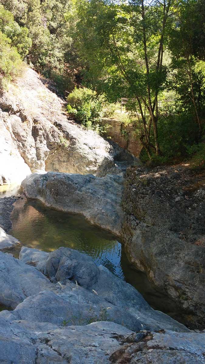 Un'altra pozza, sotto il Pozzo Sfondato