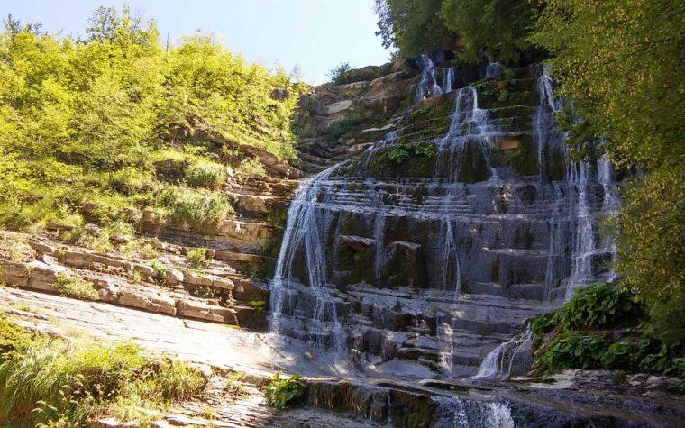 La cascata dell'Acquacheta