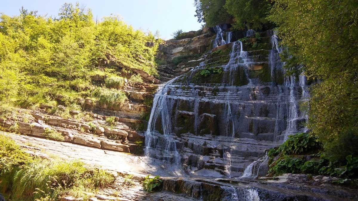 La cascate dell'Acquacheta
