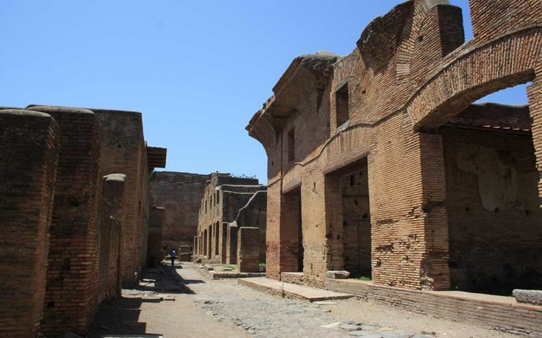 Ostia Antica: un tuffo nel passato