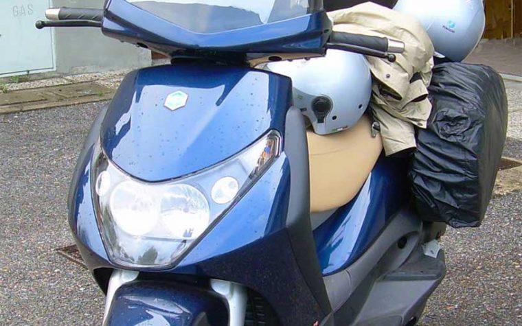 Come fare i bagagli per viaggiare in scooter
