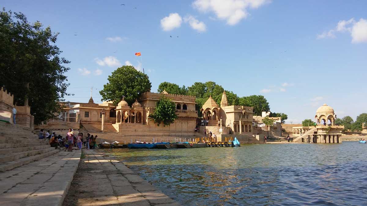 Jaisalmer, la città d'oro nel deserto - Gadisar Lake