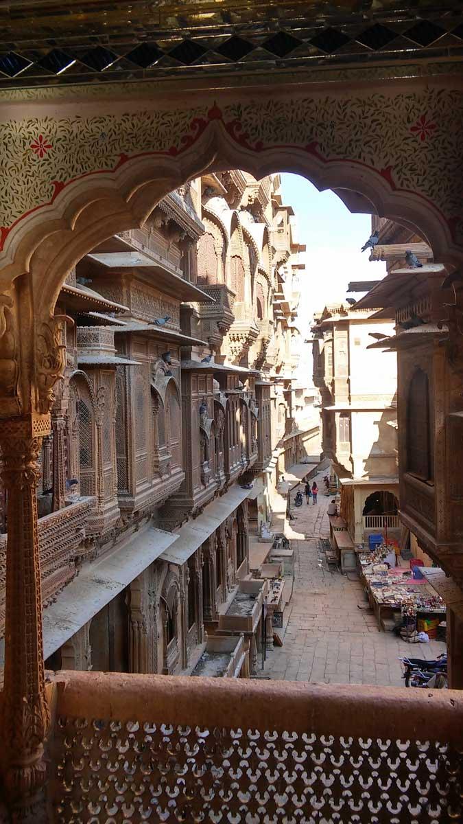 Jaisalmer, la città d'oro nel deserto - la città vecchia