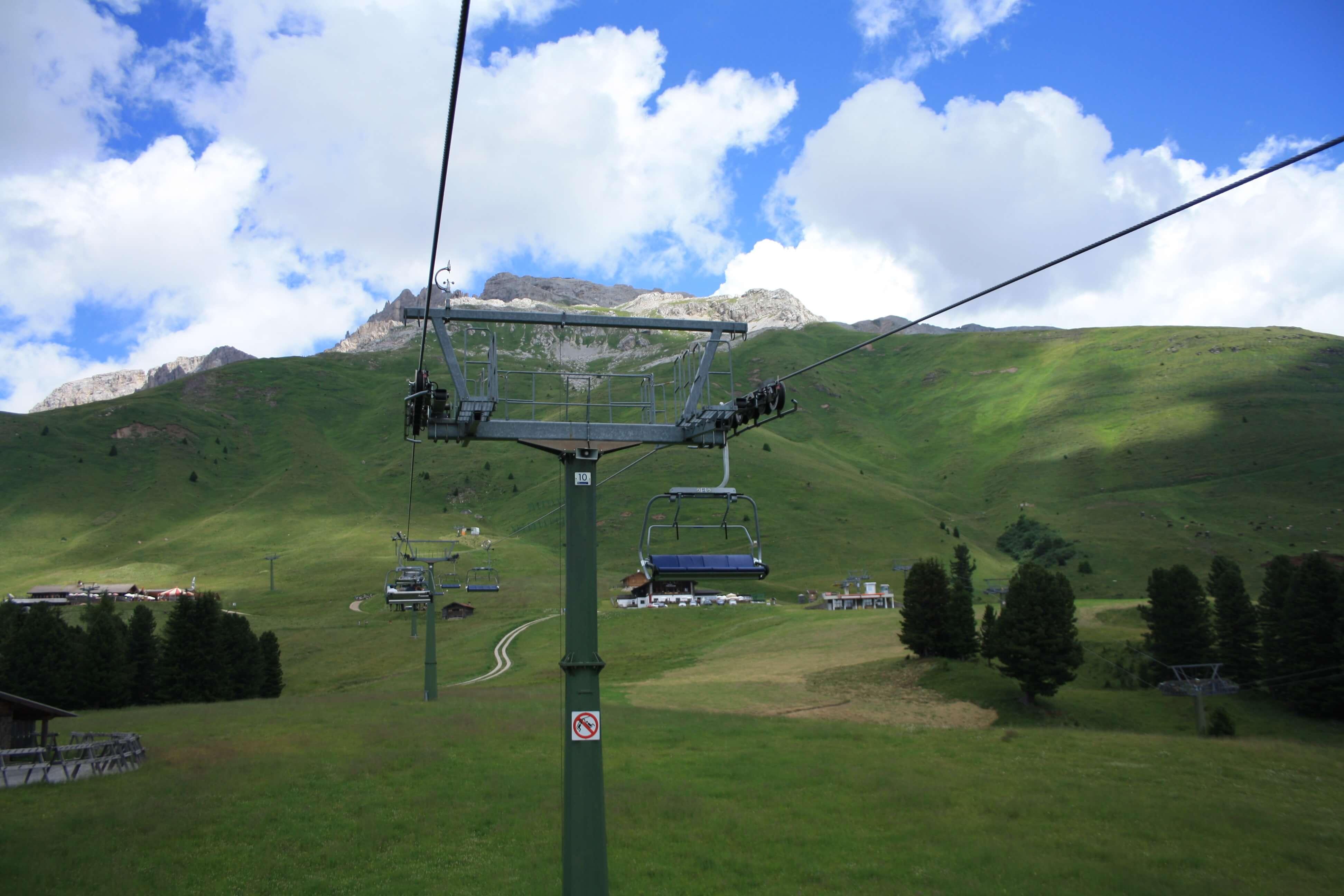 Val Di Fiemme - Trentino Alto Adige - Latemar seggiovia