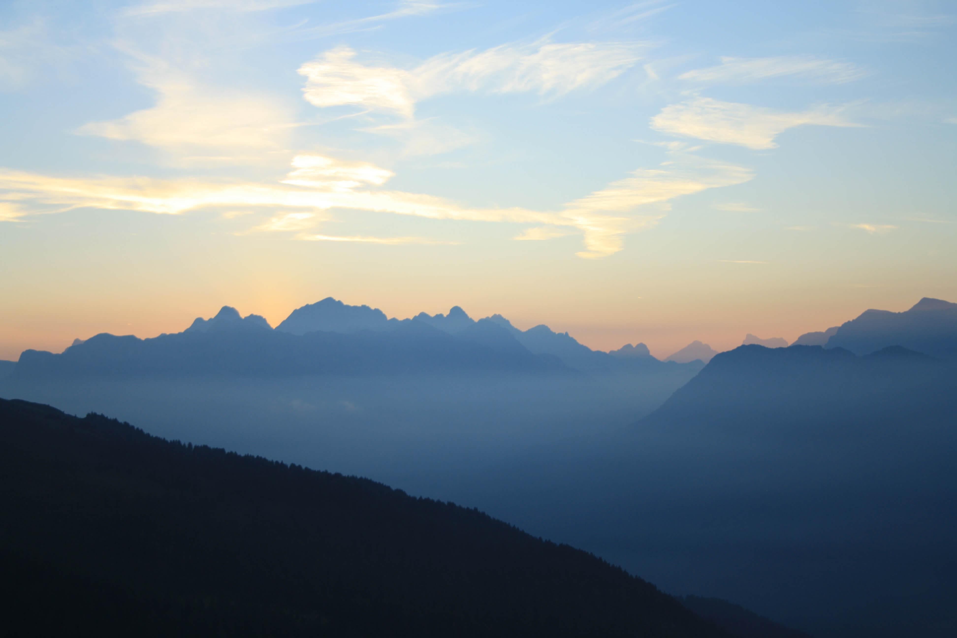 Val Di Fiemme - Trentino Alto Adige - Alba Latemar