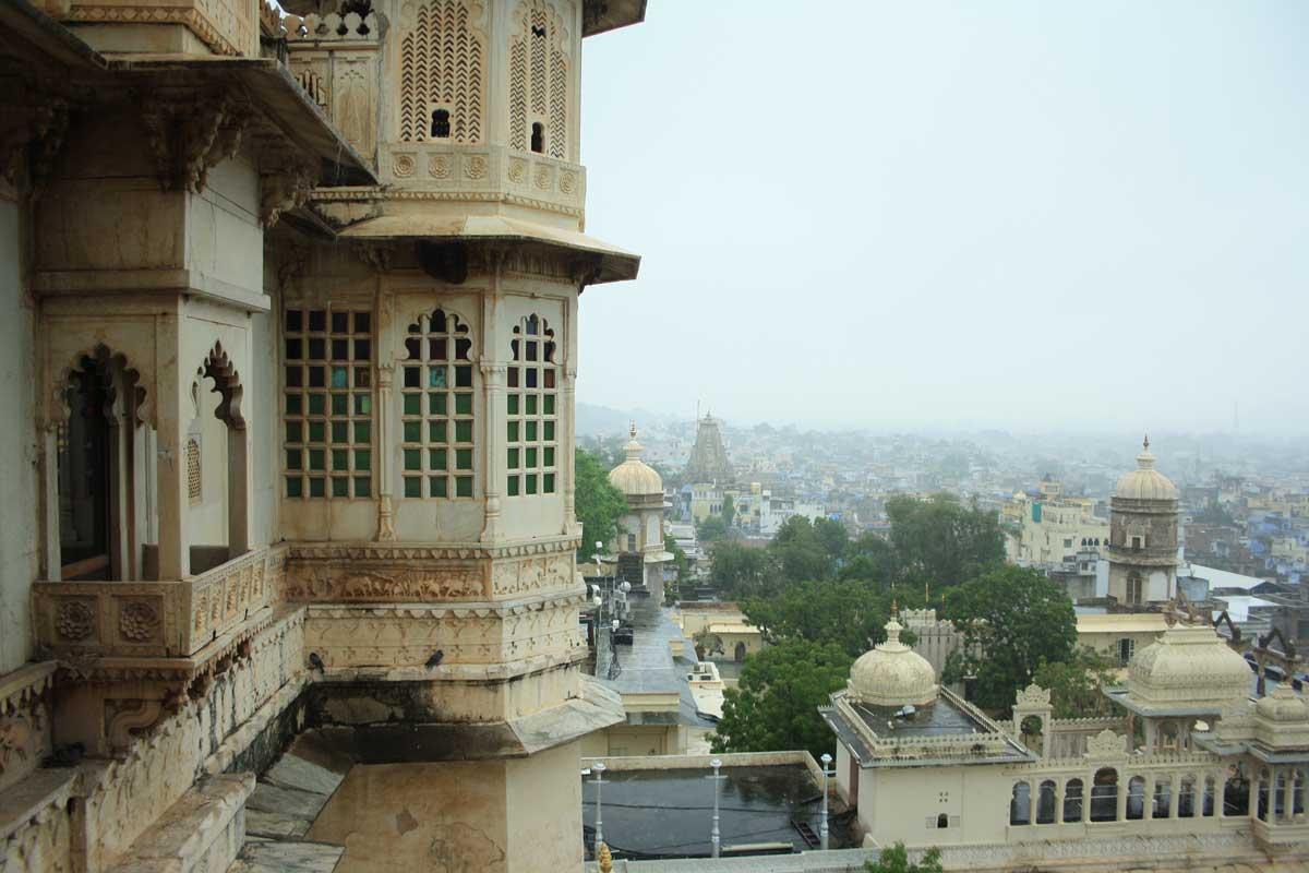 Udaipur, la Venezia d'Oriente , panorama dal City Palace