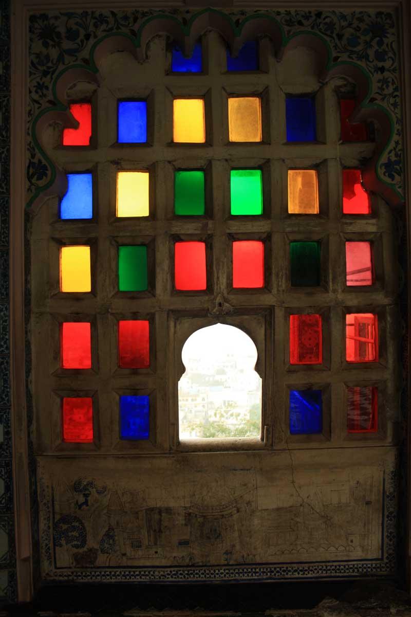 Udaipur, la Venezia d'Oriente , interni City Palace