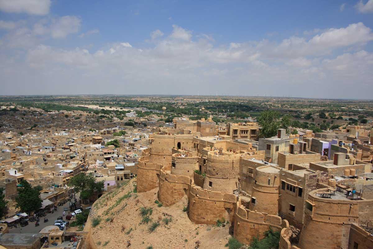 Jaisalmer, la città d'oro nel deserto , il forte