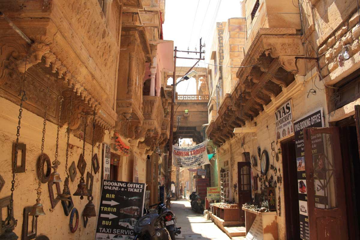Jaisalmer, la città d'oro nel deserto , la città vecchia