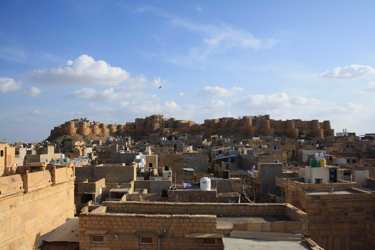 Jaisalmer, la città d'oro nel deserto - il forte
