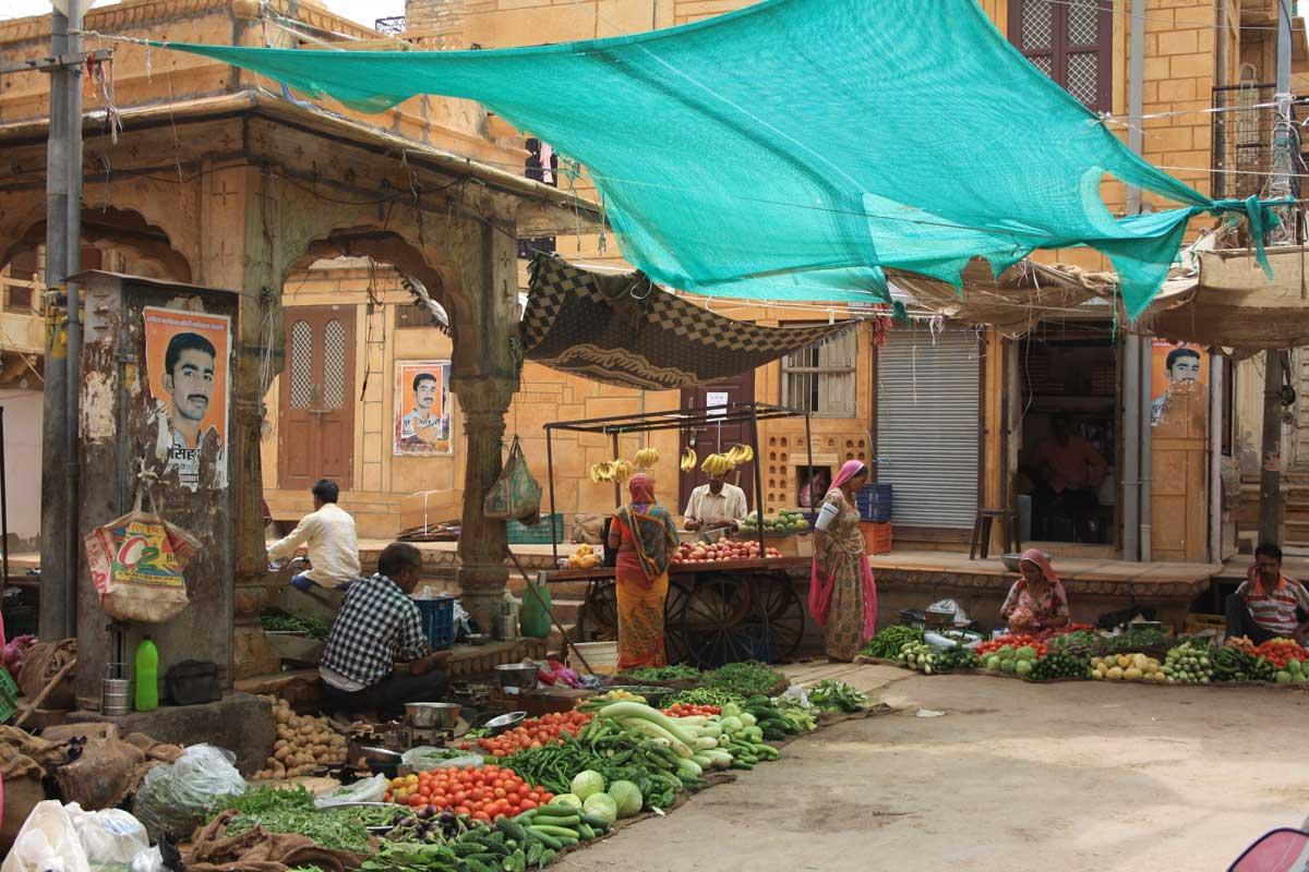 Jaisalmer, la città d'oro nel deserto - mercato