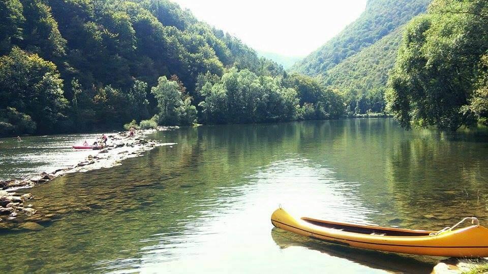 Bela Krajina, canoa